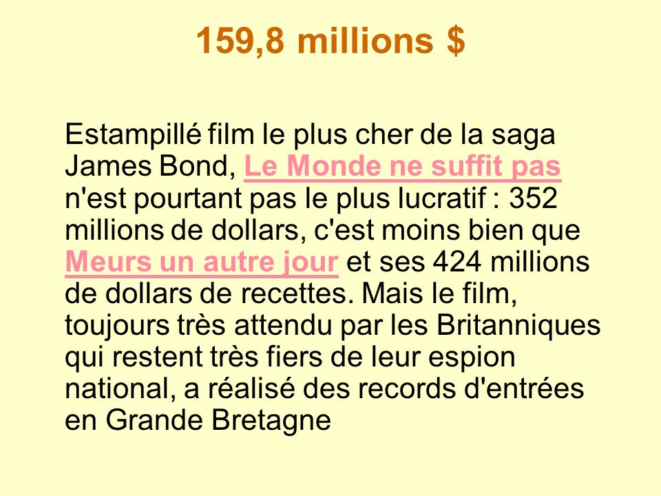 159,8 millions $