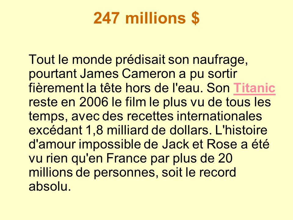 247 millions $