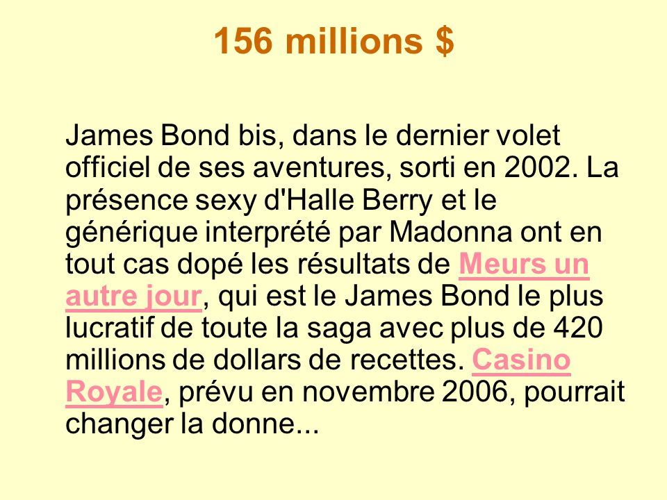 156 millions $