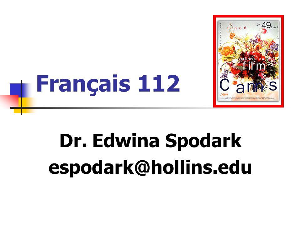 Dr. Edwina Spodark espodark@hollins.edu