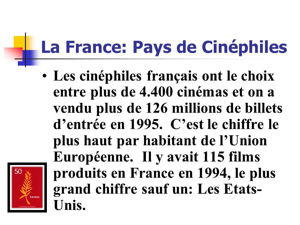La France: Pays de Cinéphiles