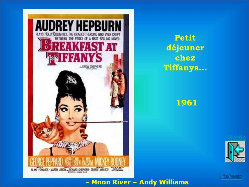 Petit déjeuner chez Tiffanys...