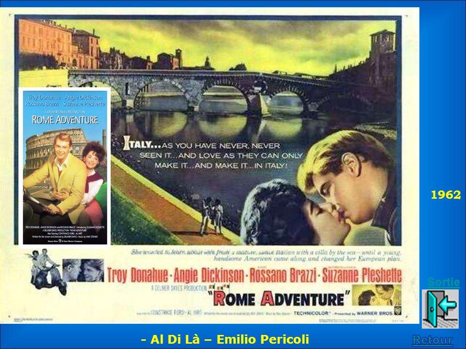 1962 Sortie - Al Di Là – Emilio Pericoli Retour