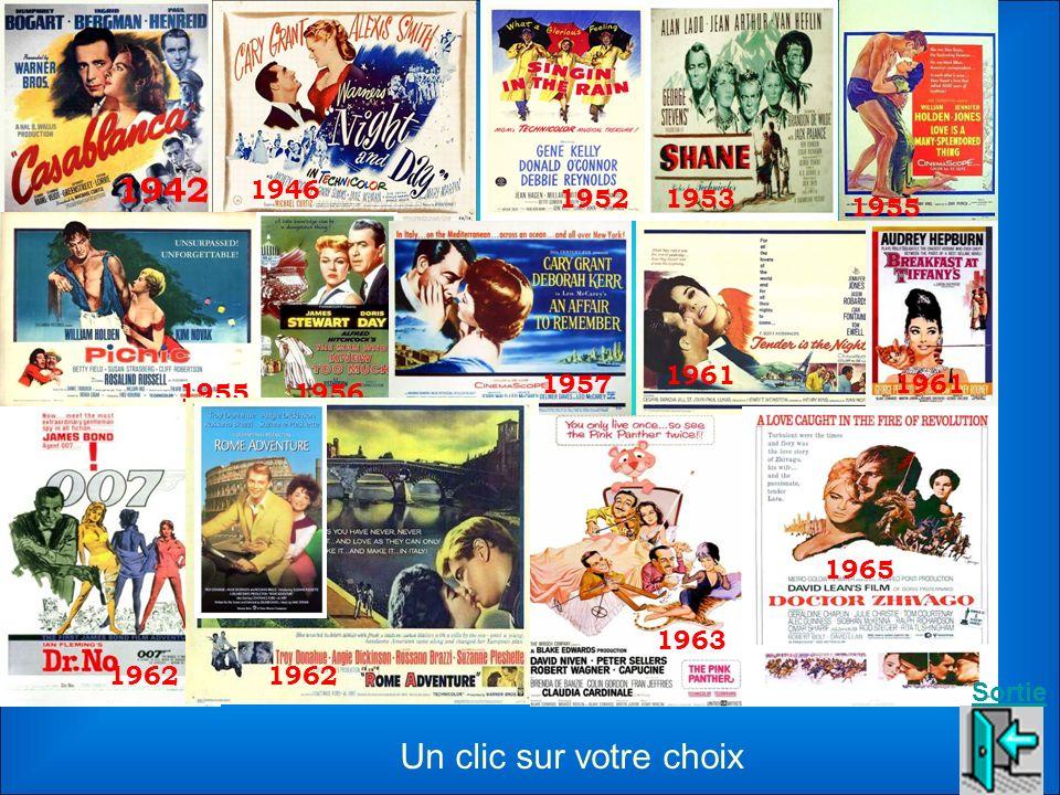 1942 1946. 1952. 1953. 1955. 1961. 1957. 1961. 1955. 1956. 1965. 1963. 1962. 1962. Sortie.