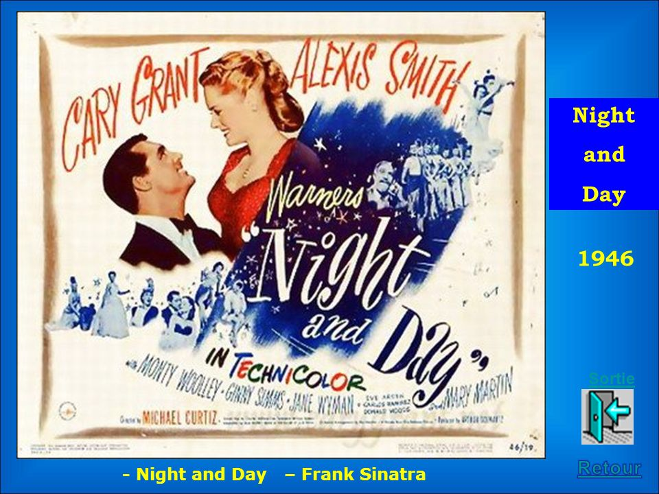Night and Day 1946 Sortie Retour - Night and Day – Frank Sinatra