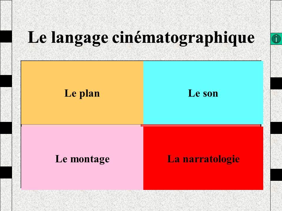 Le langage cinématographique