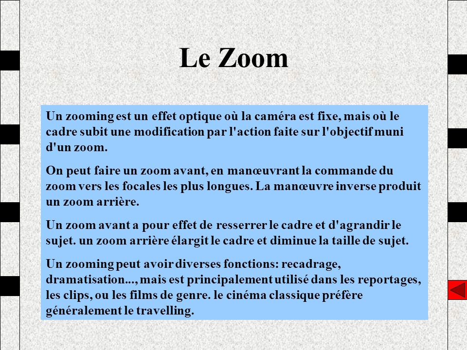 Le Zoom