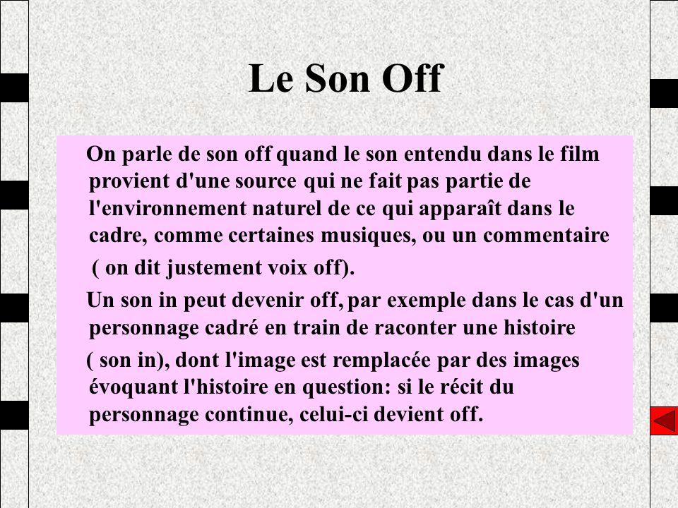 Le Son Off