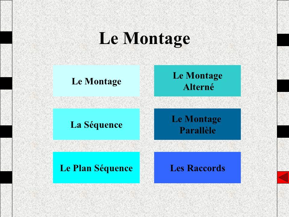 Le Montage Le Montage Le Montage Alterné La Séquence Le Montage