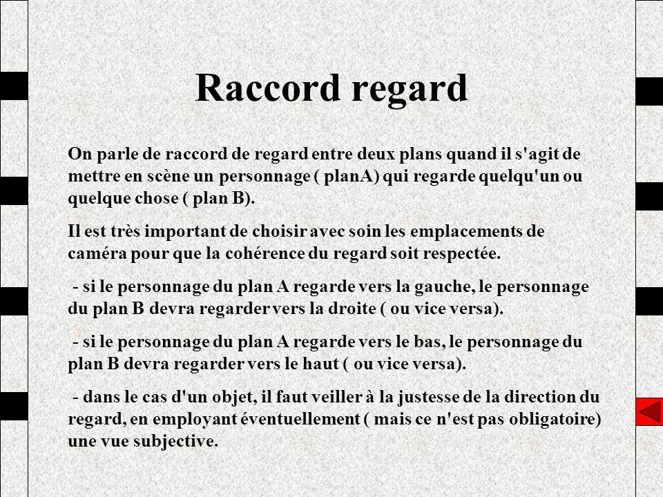 Raccord regard