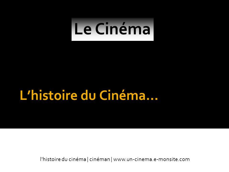 Le Cinéma L'histoire du Cinéma… Par cinéman