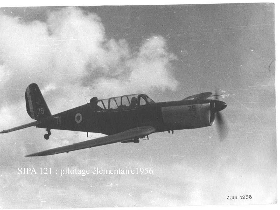 SIPA 121 : pilotage élémentaire1956