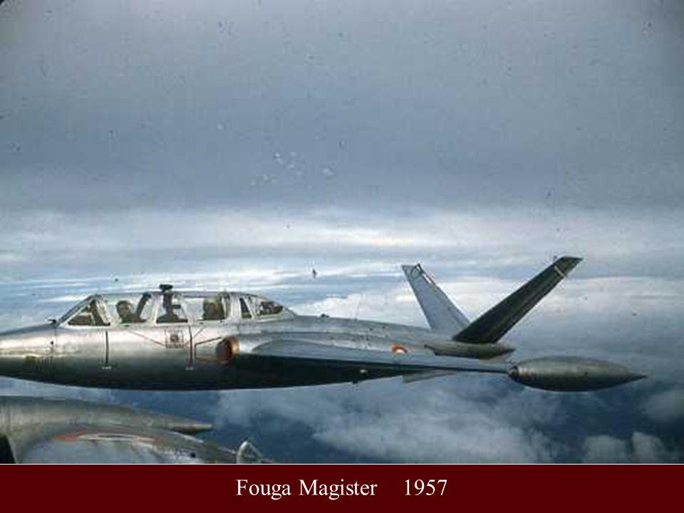 Fouga Magister 1957