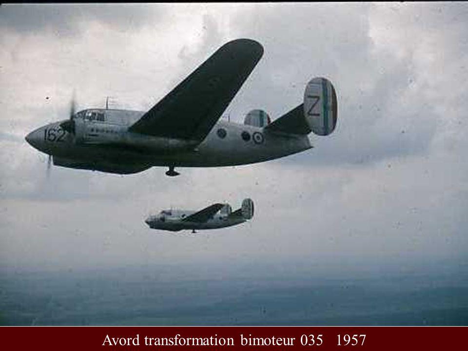 Avord transformation bimoteur 035 1957