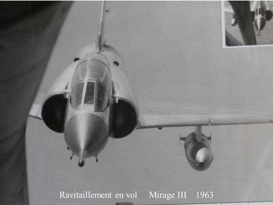 Ravitaillement en vol Mirage III 1963