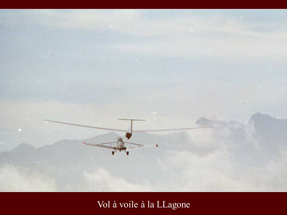 Vol à voile à la LLagone
