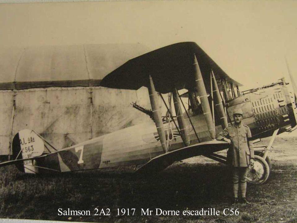 Salmson 2A2 1917 Mr Dorne escadrille C56