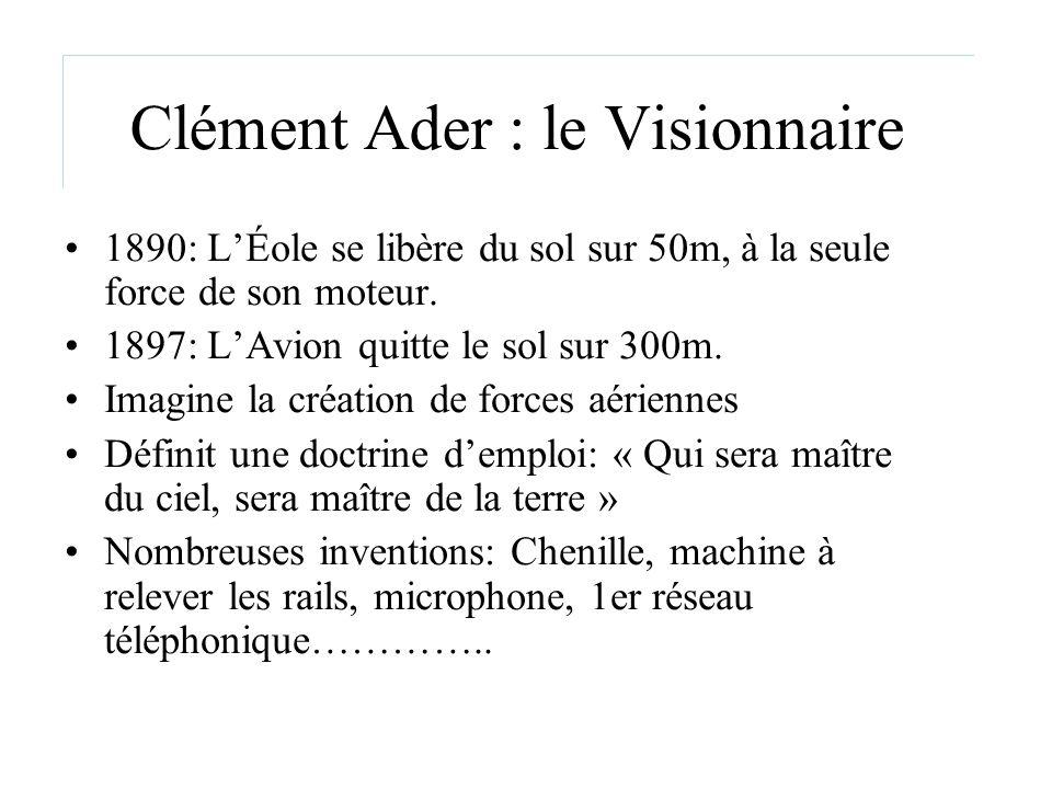 Clément Ader : le Visionnaire