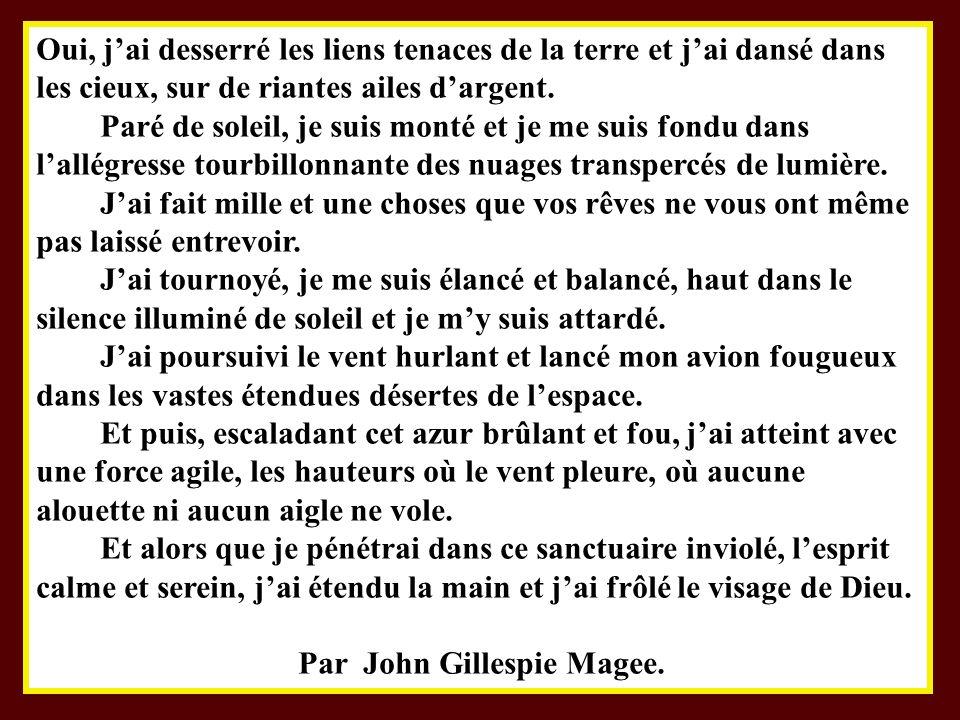 Par John Gillespie Magee.