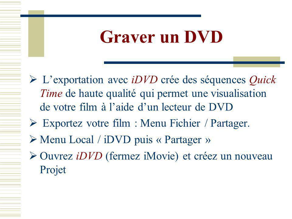 Graver un DVD