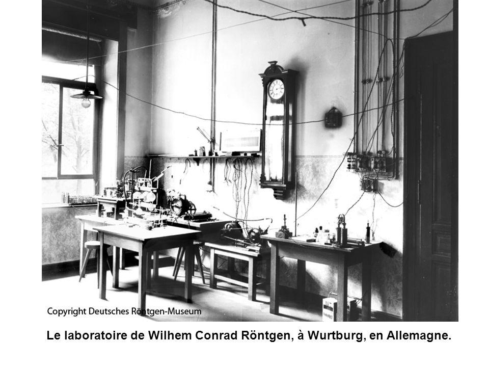 Le laboratoire de Wilhem Conrad Röntgen, à Wurtburg, en Allemagne.