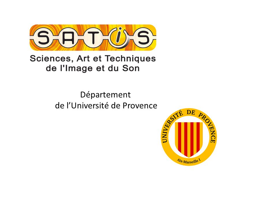 de l'Université de Provence