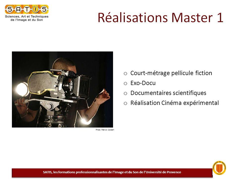 Réalisations Master 1 Court-métrage pellicule fiction Exo-Docu