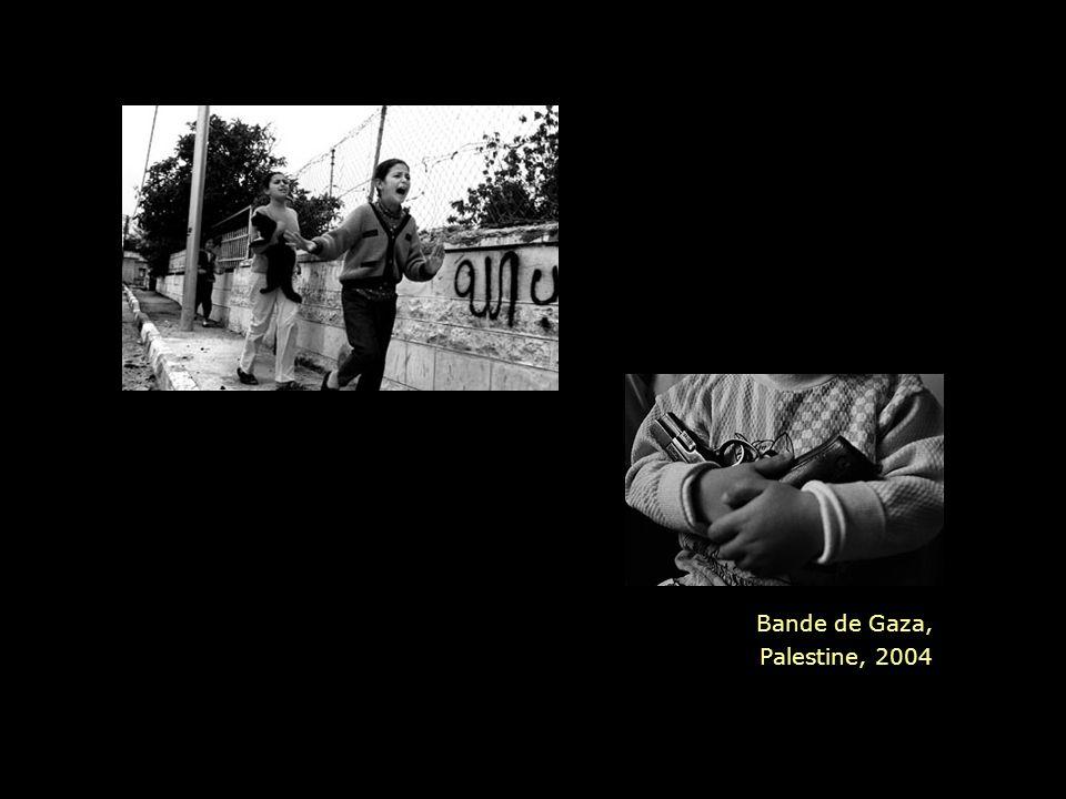 Bande de Gaza, Palestine, 2004