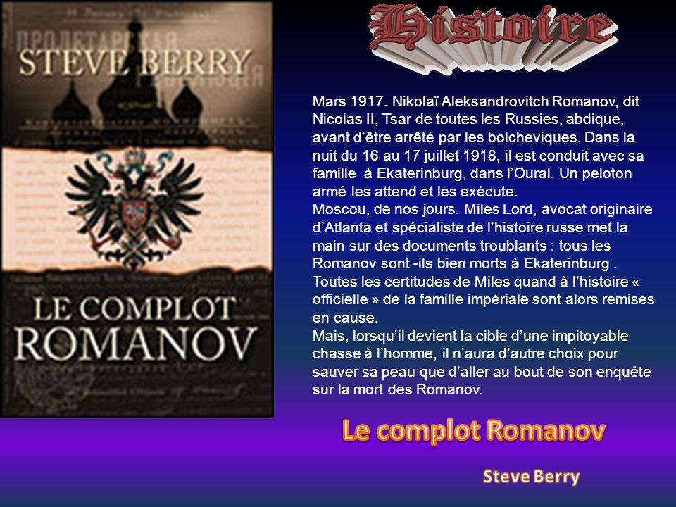 Le complot Romanov Steve Berry