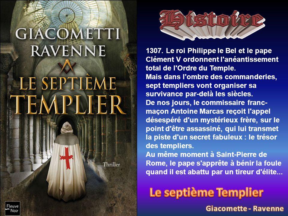 Le septième Templier Giacomette - Ravenne