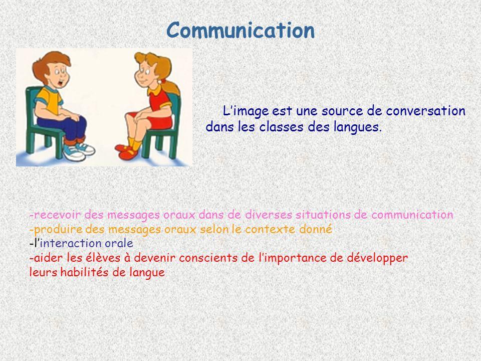 Communication dans les classes des langues.