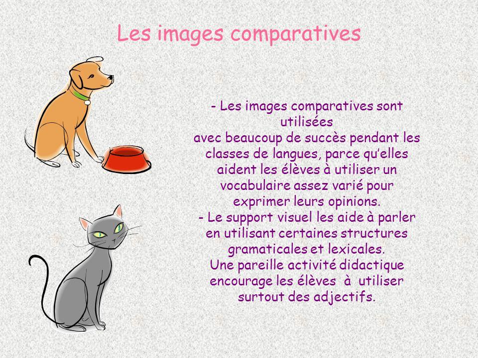 Les images comparatives