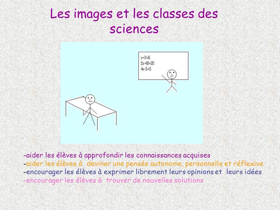 Les images et les classes des sciences