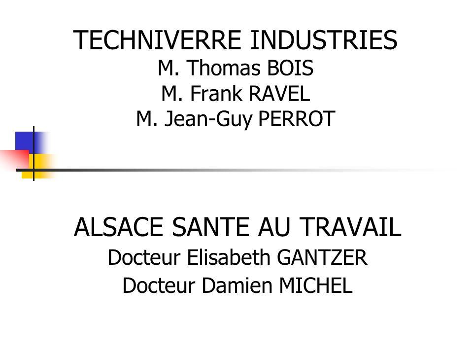 ALSACE SANTE AU TRAVAIL