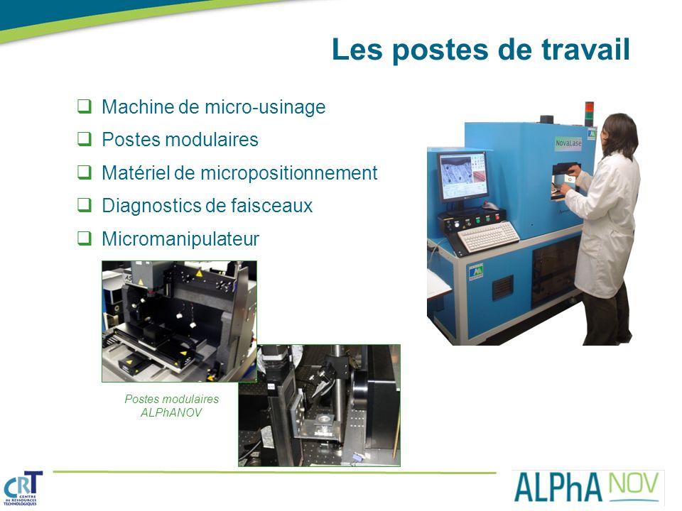 Postes modulaires ALPhANOV
