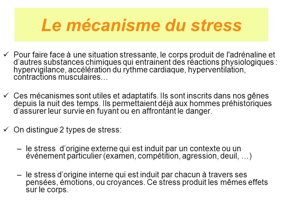 Le mécanisme du stress
