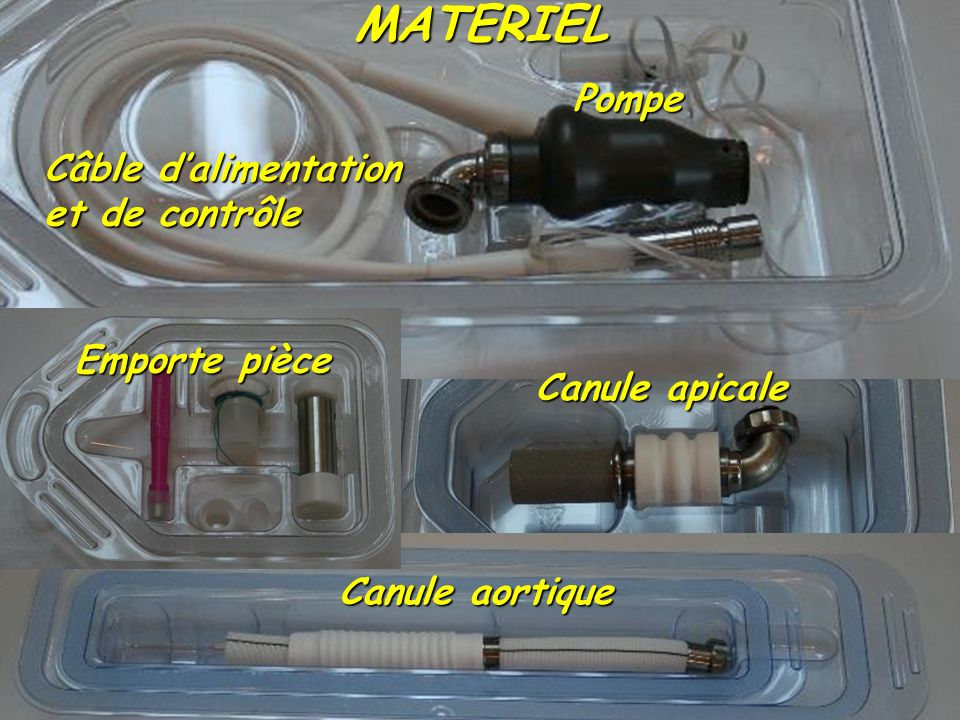 MATERIEL Pompe Câble d'alimentation et de contrôle Emporte pièce