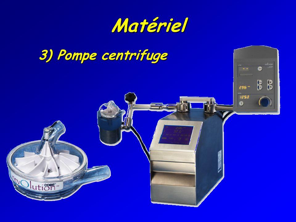 Matériel 3) Pompe centrifuge