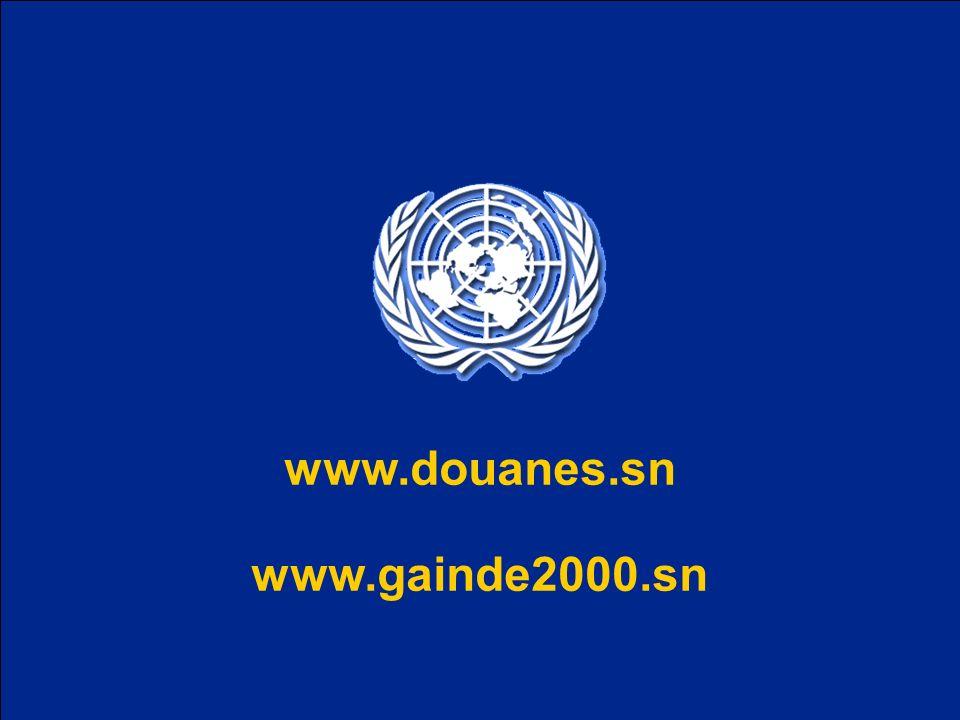 www.douanes.sn www.gainde2000.sn