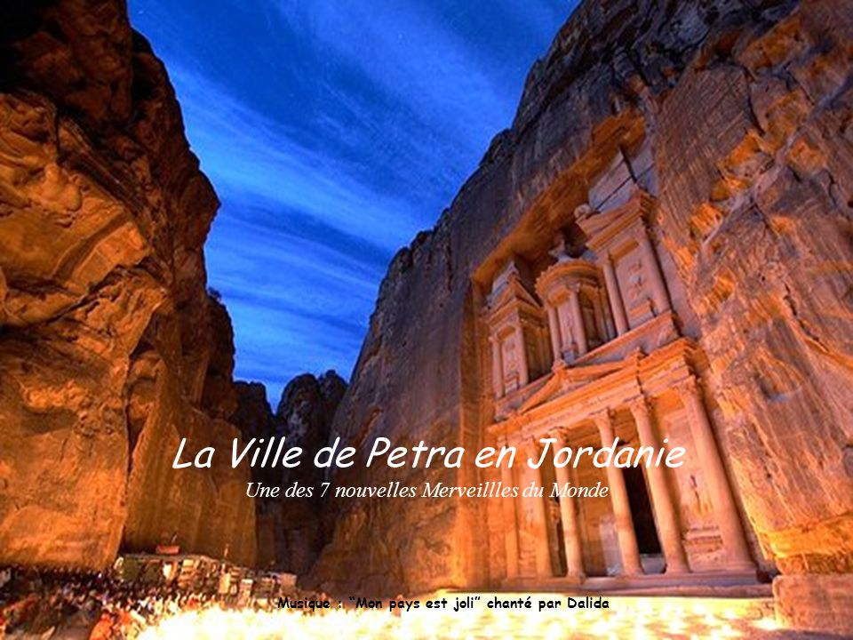 La Ville de Petra en Jordanie