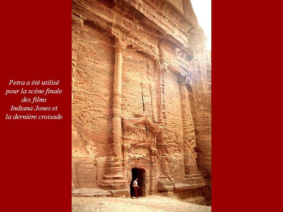 Petra a été utilisé pour la scène finale des films Indiana Jones et la dernière croisade