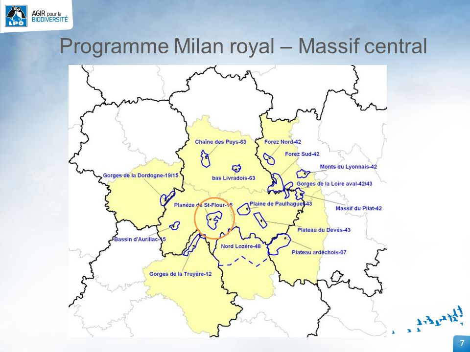 Programme Milan royal – Massif central