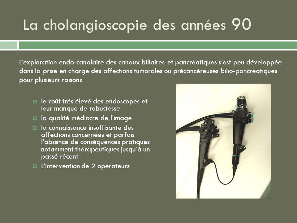 La cholangioscopie des années 90