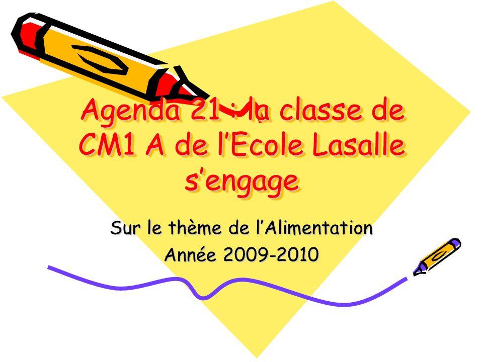 Agenda 21 : la classe de CM1 A de l'Ecole Lasalle s'engage