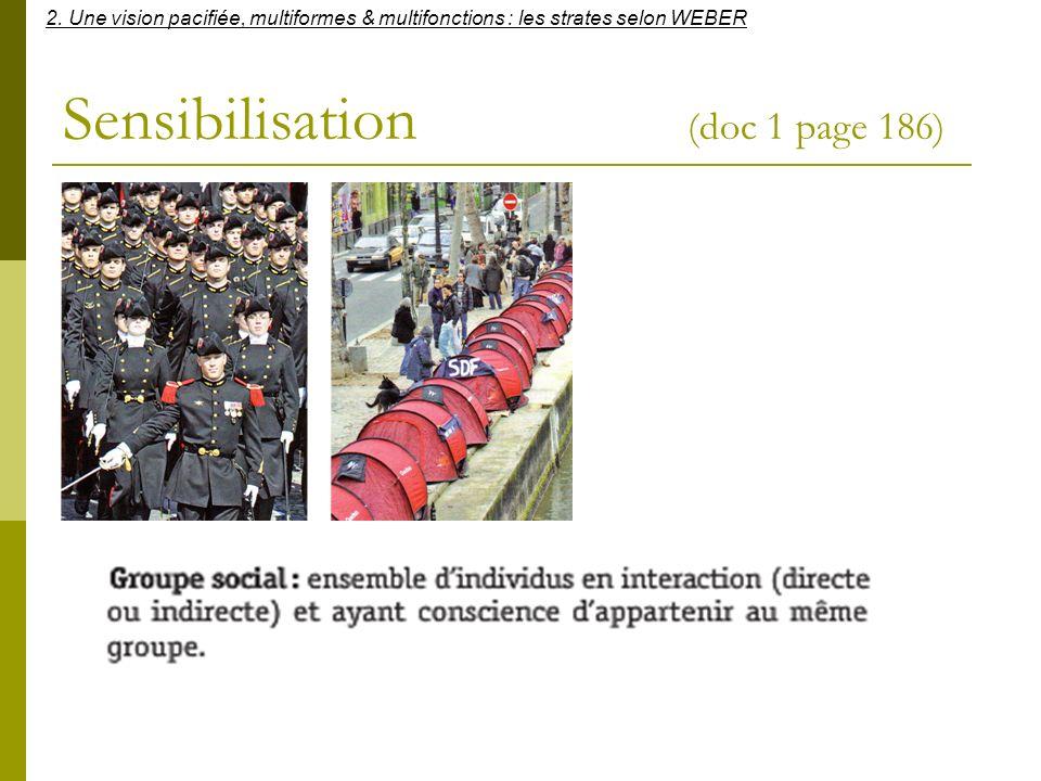 Sensibilisation (doc 1 page 186)
