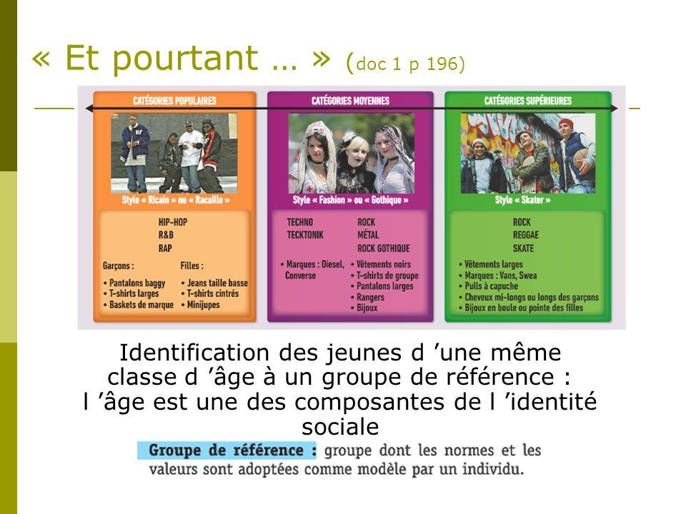 « Et pourtant … » (doc 1 p 196)