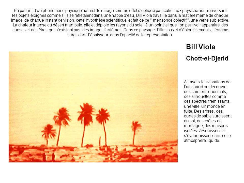 Bill Viola Chott-el-Djerid