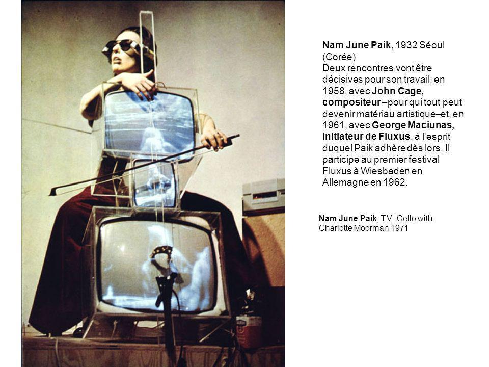 Nam June Paik, 1932 Séoul (Corée)