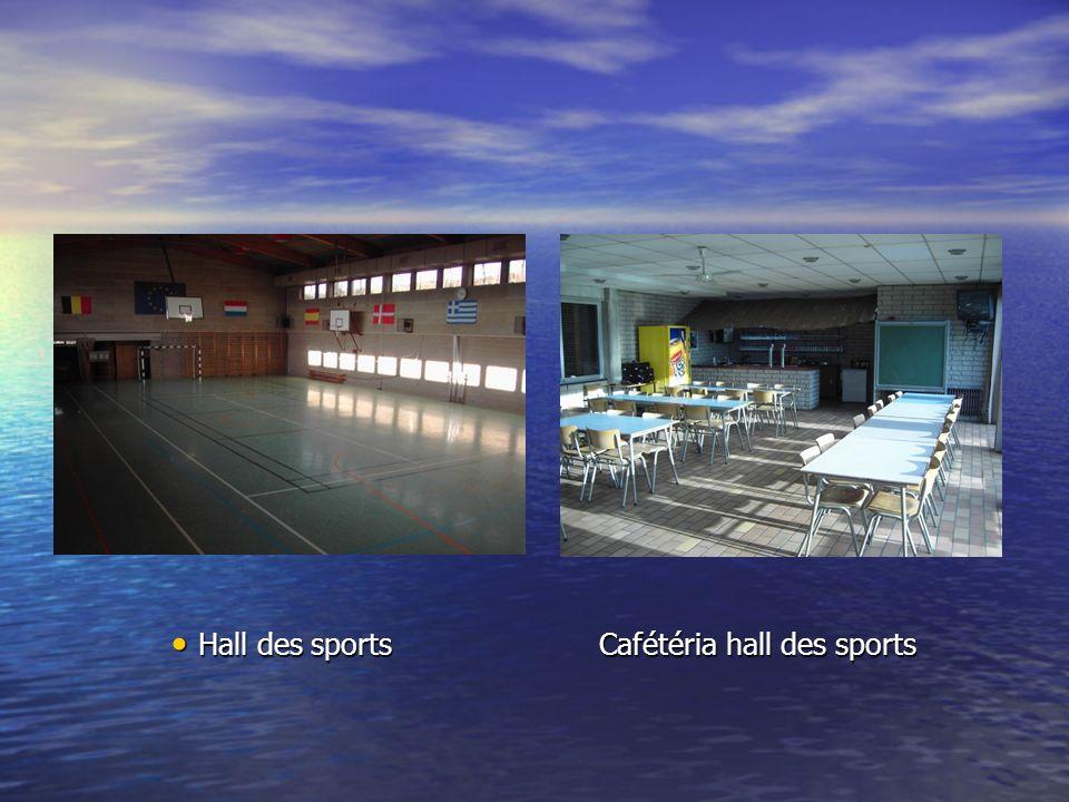 Hall des sports Cafétéria hall des sports