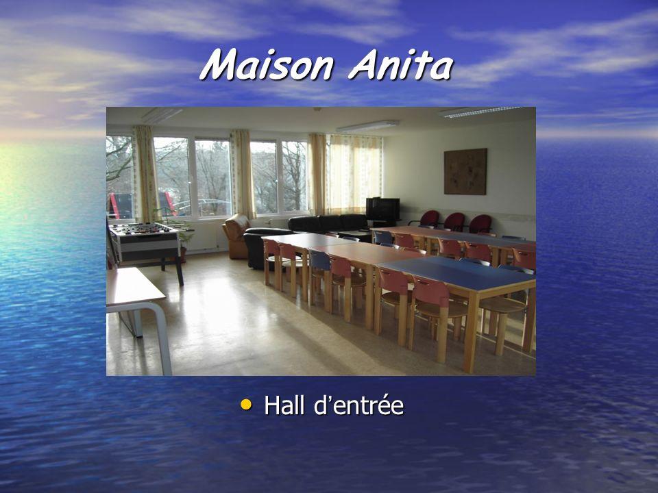 Maison Anita Hall d'entrée